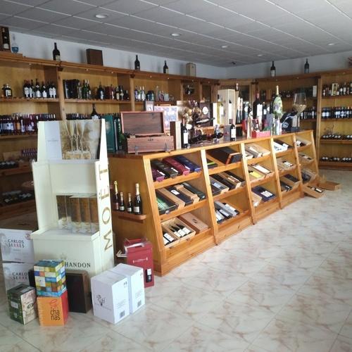 Tienda de vinos en Salamanca