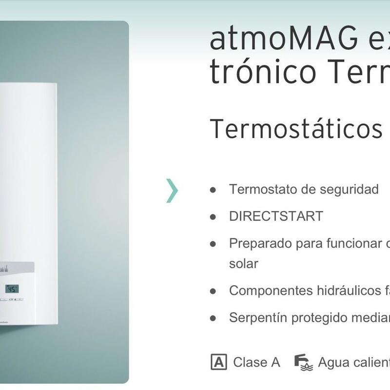 Calentador VAILLANT : Servicios de J. C. Calleja Instalaciones