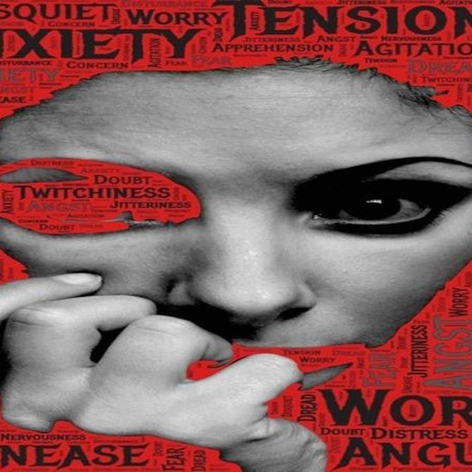 Los síntomas más llamativos de la ansiedad