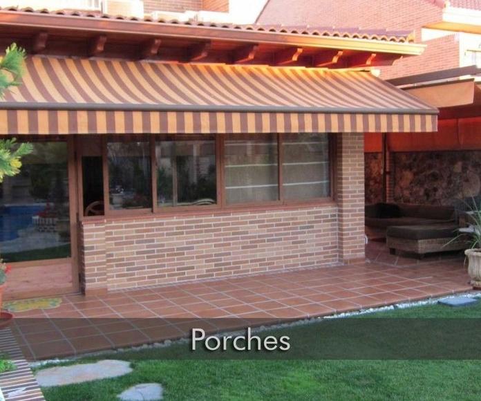 Porches : Servicios de Decoraciones Catesela, S. L.