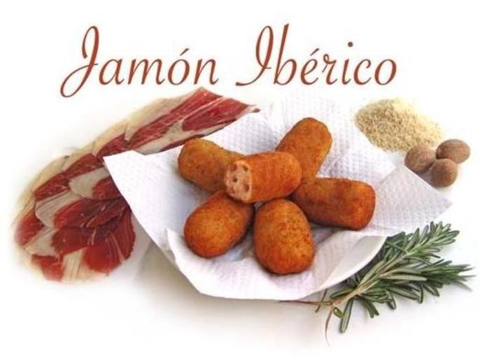 Croquetas de jamón ibérico: Carta de Cervecería Restaurante Gambrinus Mirasierra