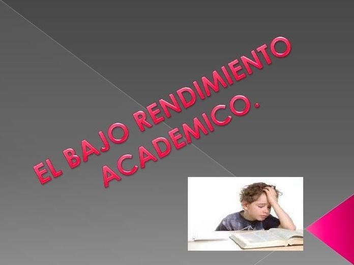 Bajo Rendimiento Académico en Burgos.