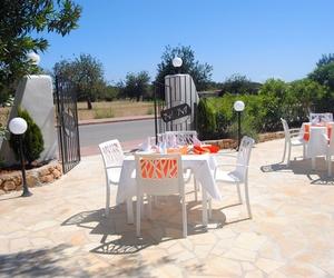 La nostra terrassa enjardinada per gaudir de les vistes