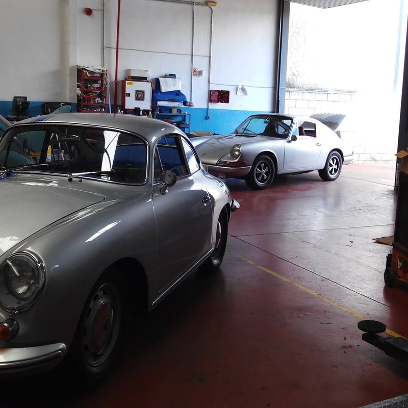 Porsche 911 y 356. Joyas de la carretera a punto