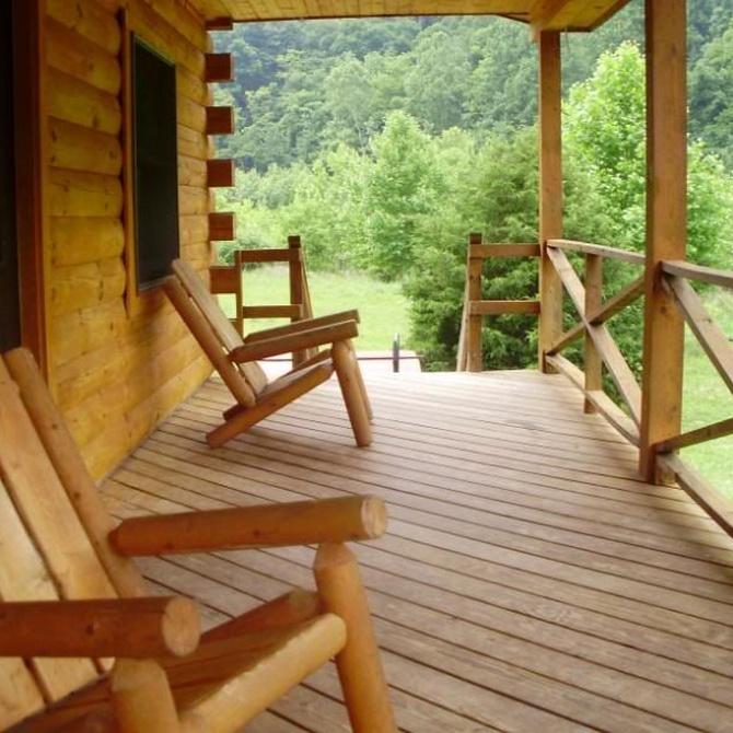 Tips para cuidar la madera de tu porche
