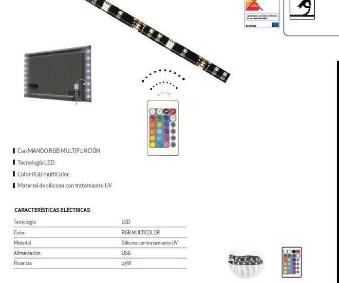 Kit TV RGB: Productos de Centro Led Almería