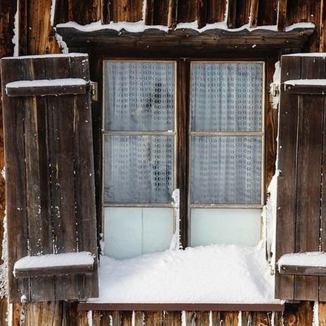 Las persianas, un buen aliado contra el frío, el calor y el ruido