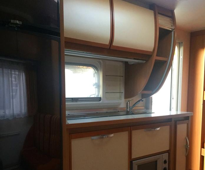 caravana burstner belcanto 500 aire mover nevera 150 lts: Caravanas de ocasión de Caravanas Granollers