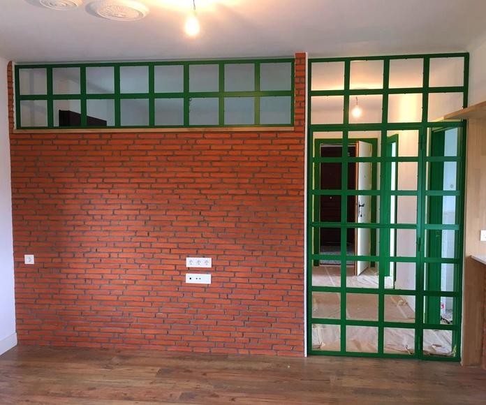 Mamparas y puertas