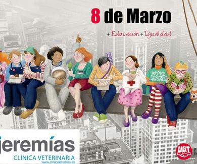 8 de Marzo - Feliz día de la mujer trabajadora