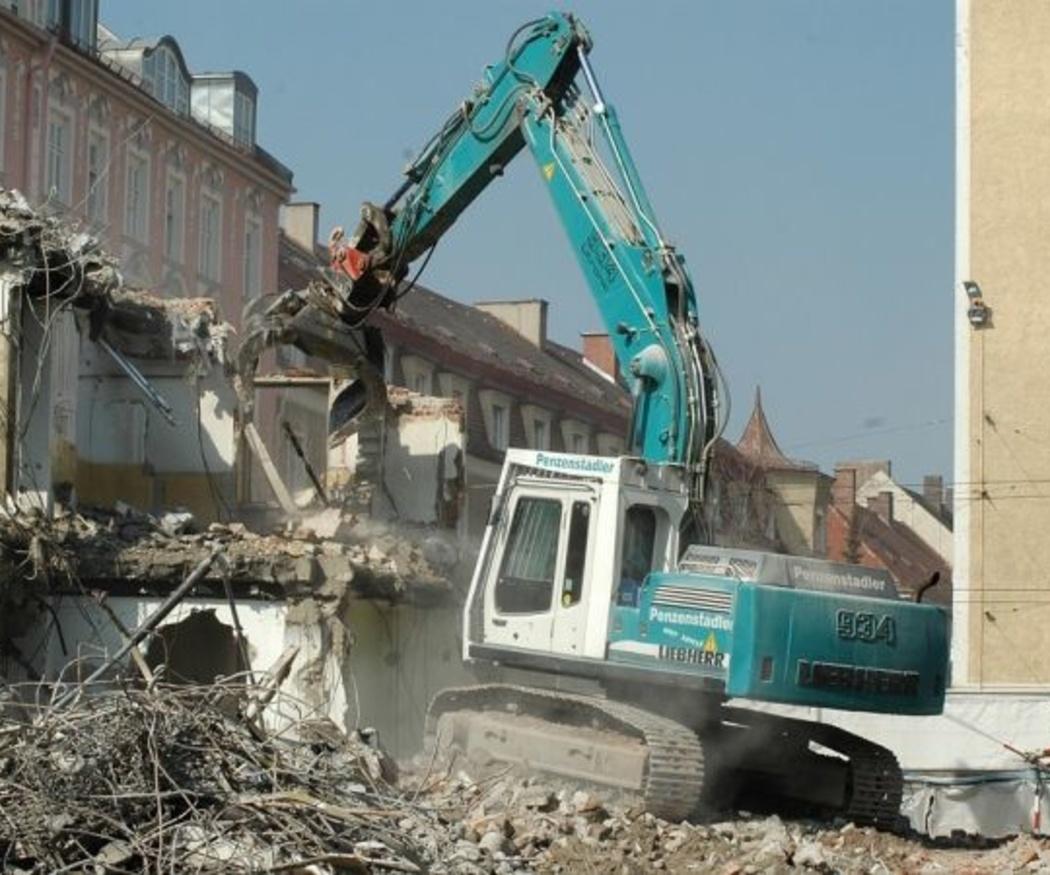 Ventajas de la demolición de edificios
