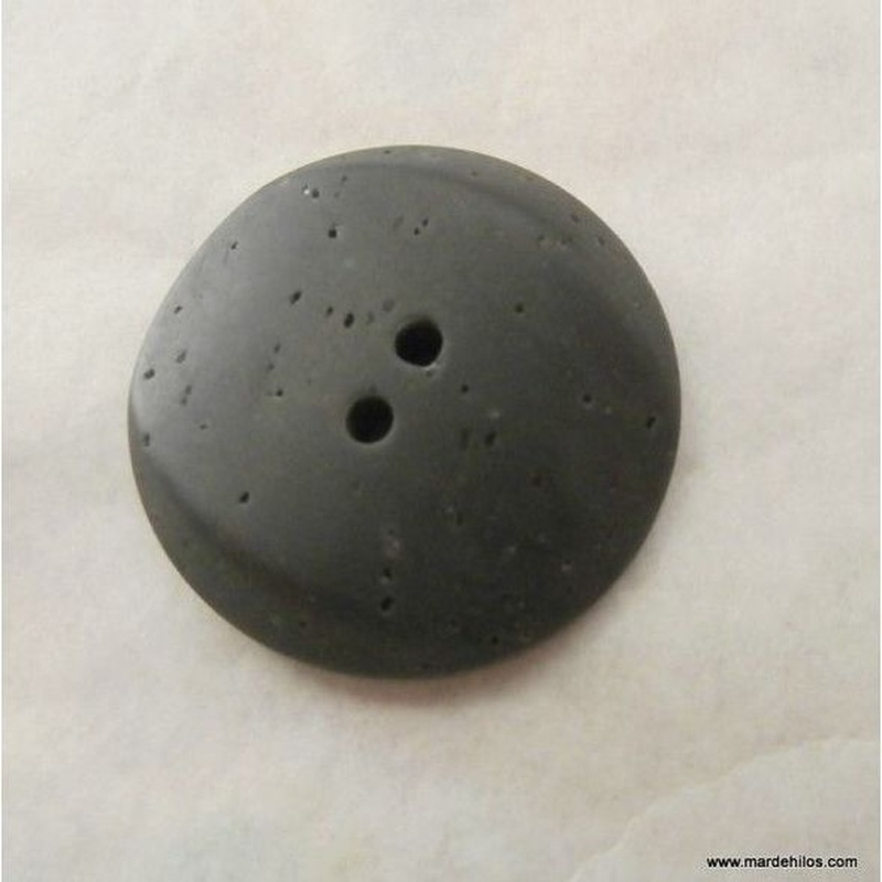 Botón gris grafito: Productos de Mar de Hilos