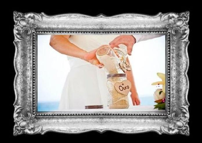 Ritual de la arena para bodas y casamientos
