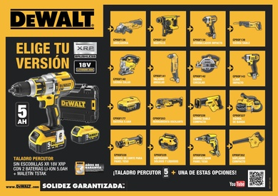 Folleto DEWALT 1/2016