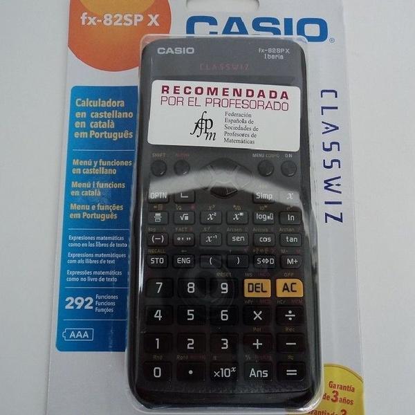Oferta calculadora Casio FX-82SPX14.90€