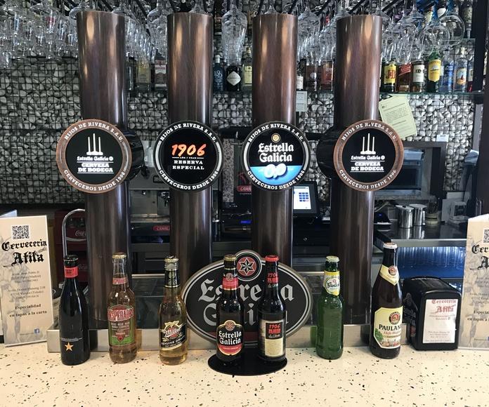 Cenas con espectaculos.: Servicios de Cervecería Atila