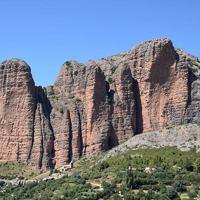 Los Mallos de Riglos, la referencia geológica de Huesca