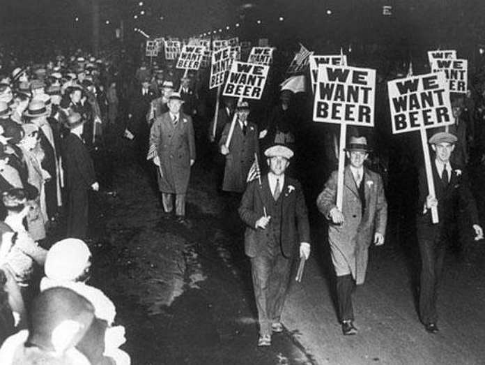 Un día como hoy era abolida la ley seca en EEUU