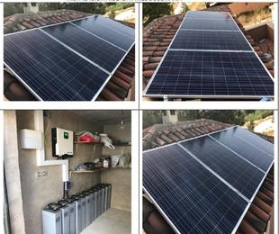 Proyectos - Instalaciones solares aisladas