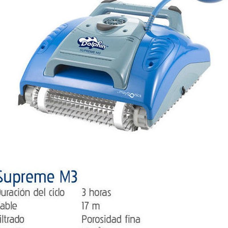 Supreme M3: Productos y servicios de Piscinas Castilla - Construcción y Rehabilitación