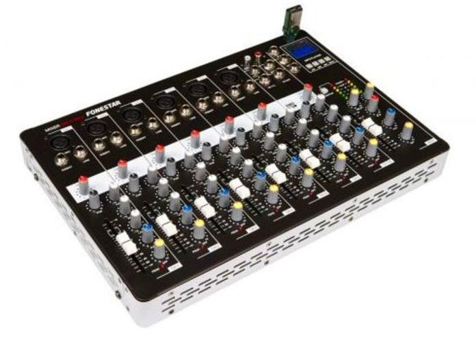 MESA DE MEZCLAS SM-2702U: Nuestros productos de Sonovisión Parla