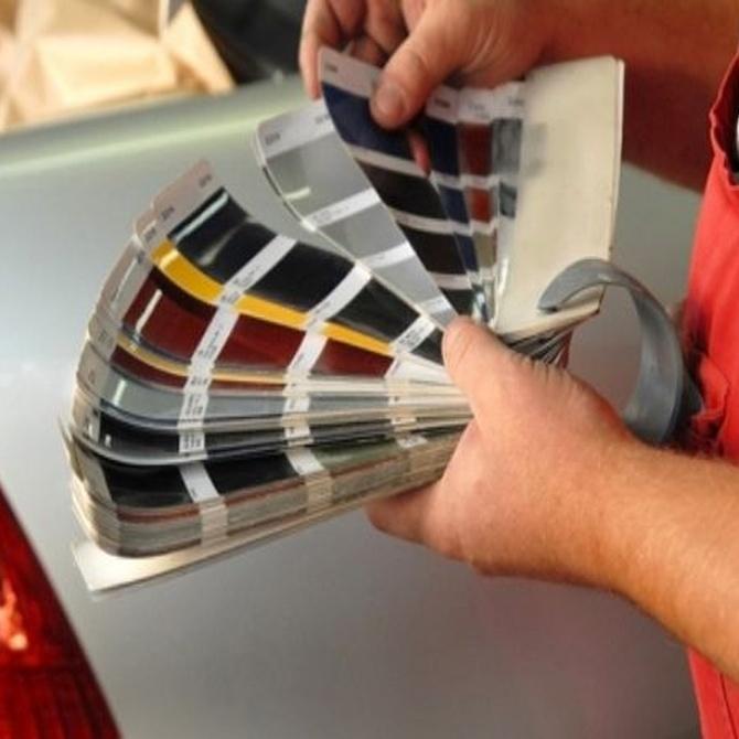 Tipos de pintura para coches