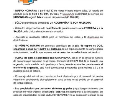 CAMBIOS DEBIDO AL COVID-19