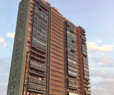Reforma de fachada en Edif. Rascacielos