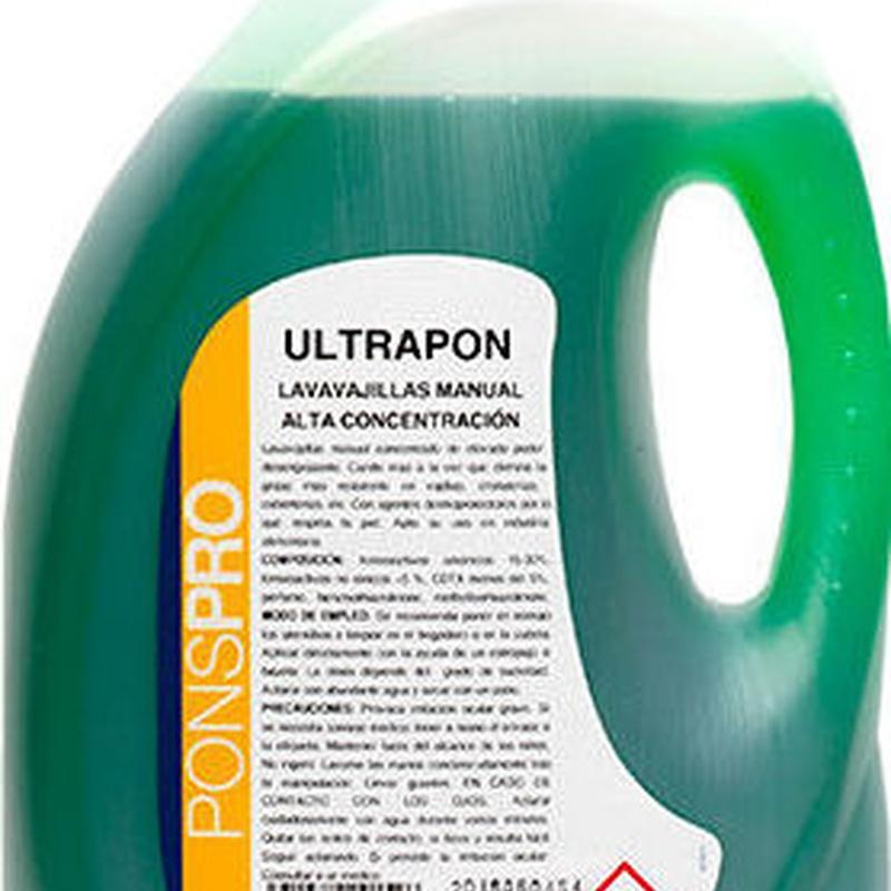 ULTRAPON: Productos y servicios de Prieto Larrey