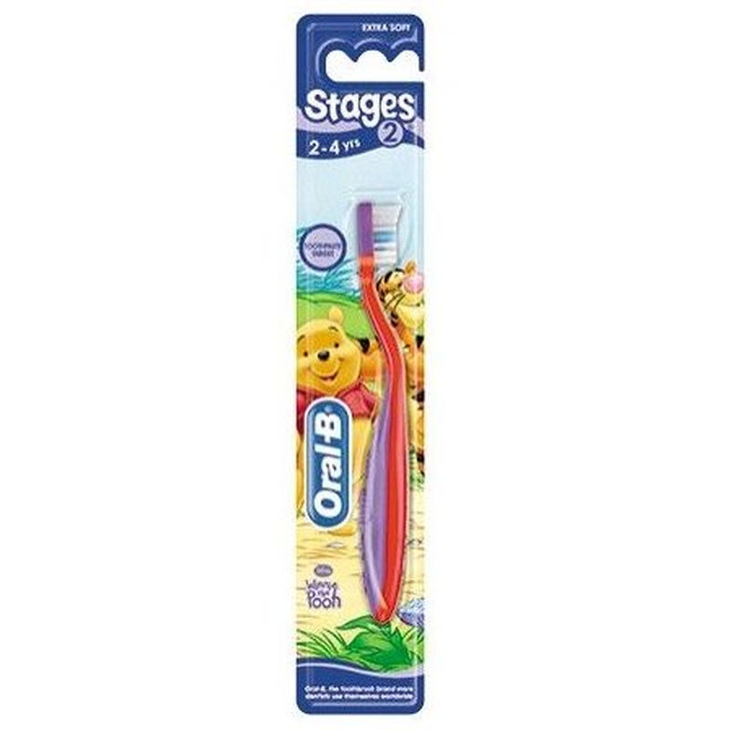 ORAL B CEPILLO DENTAL INFANTIL  STAGES  2- 4 AÑOS: Productos y Servicios de Farmacia-Ortopedia Can Parellada