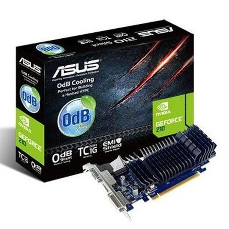 Asus VGA NVIDIA 210-SL-TC1GD3-L TC1GB DDR3 : Productos y Servicios de Stylepc