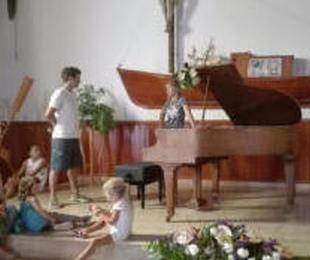 EL PRIMER PIANO DE LA ISLA DE LA GRASIOSA