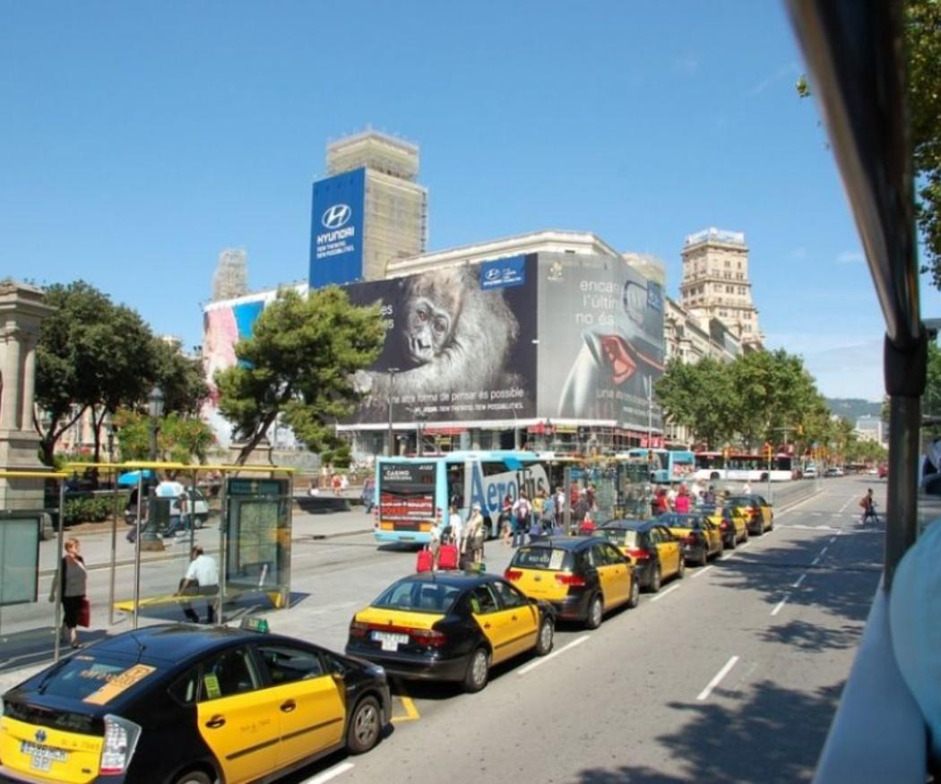 Viaja en taxi por España