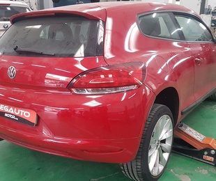 Cambio de color VW Sirocco