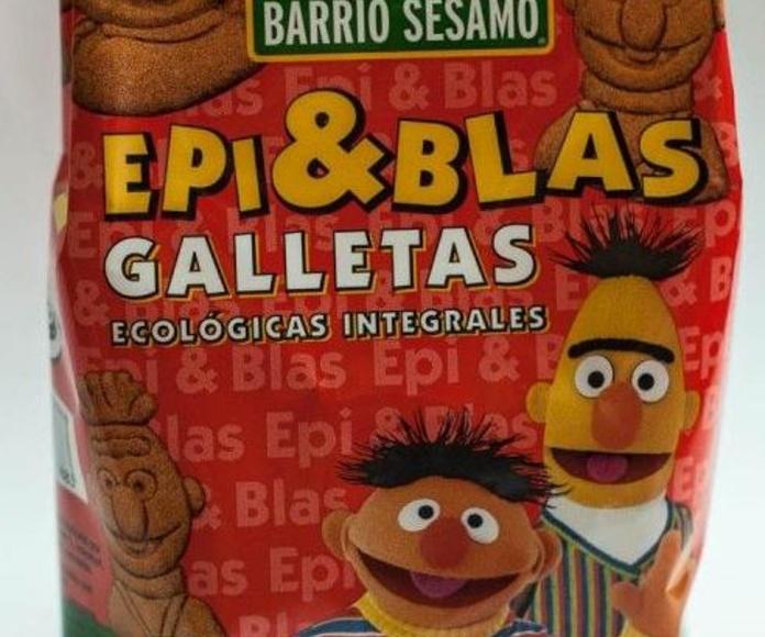 ALLOS, galletas Epi y Blas: Catálogo de La Despensa Ecológica