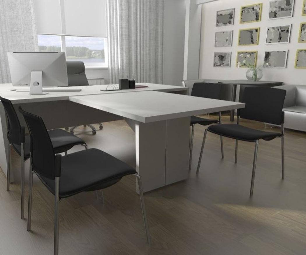 Consigue una oficina más acogedora con suelos de madera