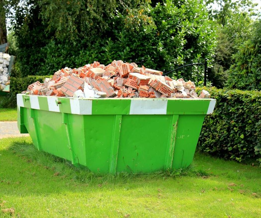 ¿Por qué usar contenedores de escombros?