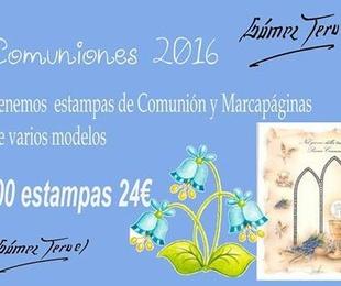 Comuniones 2016, en Foto Gómez Teruel