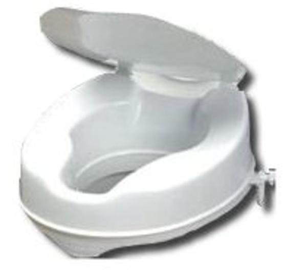 Elevador de WC con tapa