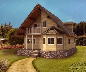 Casas madera grandes