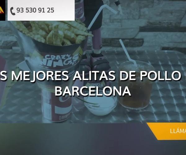 Dónde comer cerca de la Sagrada Familia, Barcelona: Crazy Wings BCN