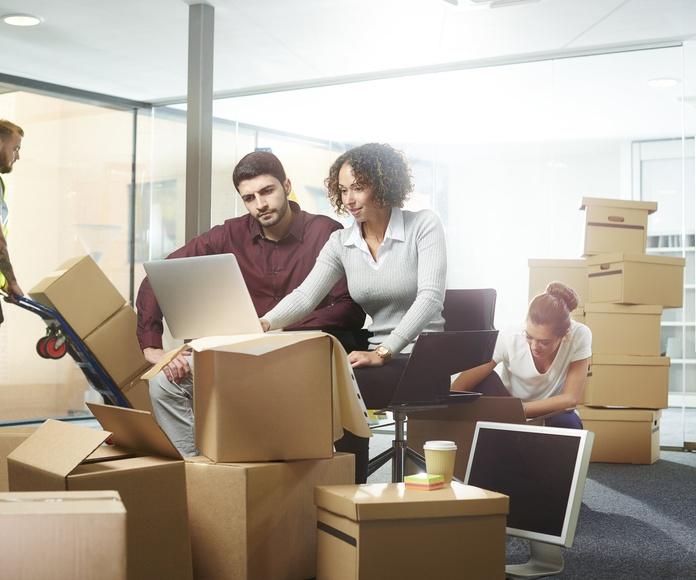 Mudanzas de oficinas: Servicios de Mudanzas Madrid Cristian