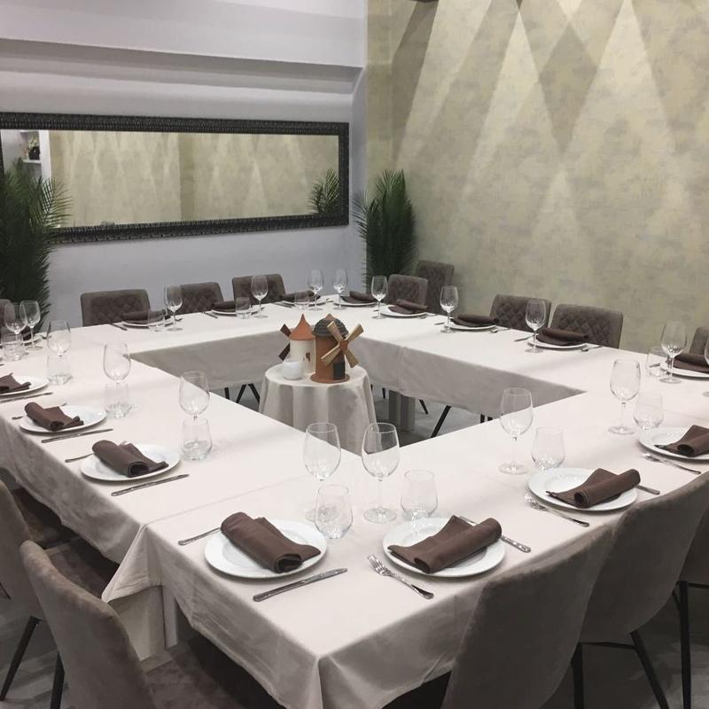 Menús para grupos: Oferta Gastronómica de Gastrobar/Restaurante Los Molinos