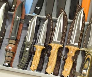 Los cuchillos con el filo convexo
