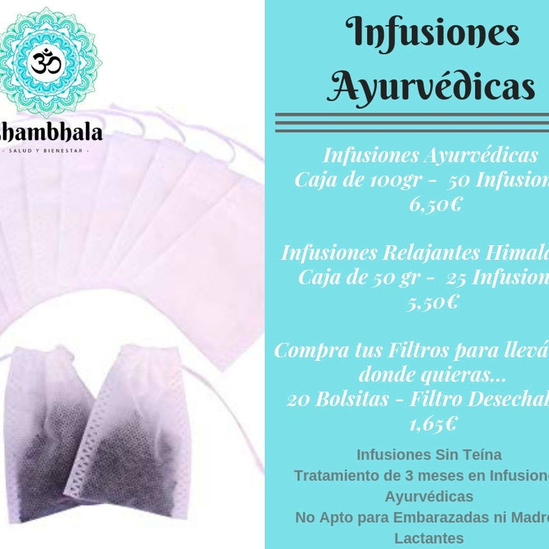 Infusiones Ayurvédicas Alicante Shambhala Samskara