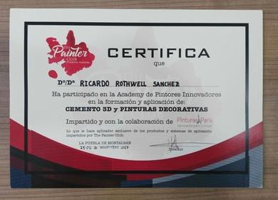 Certificaciones Cursos