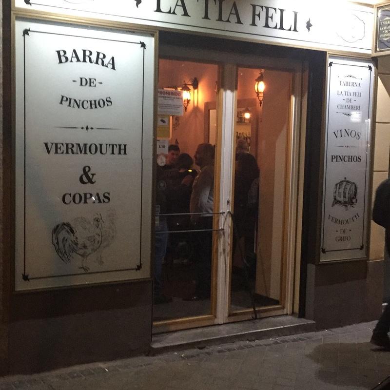 De picoteo en Chamberí: Cartas de La Tía Feli
