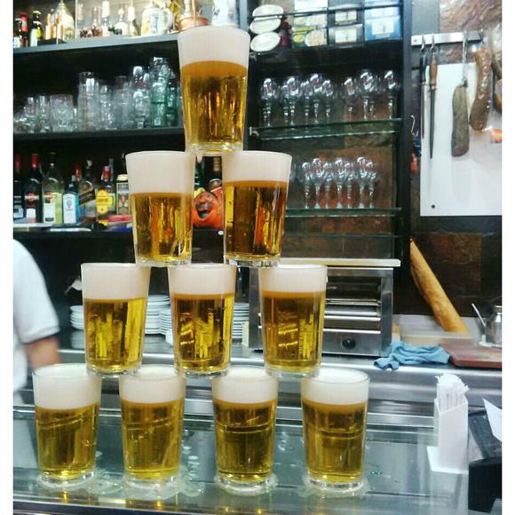 Cervezas: Carta de Bar Morales El Atómico