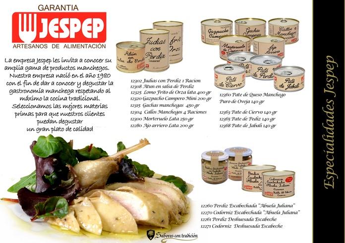 Especialidades Jespep: Productos de Sabores con tradición