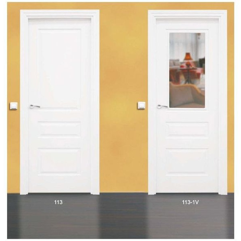 Modelo 113 Puerta lacada de calidad estándar